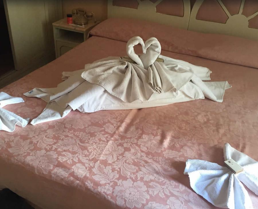Camera accoglienza hotel
