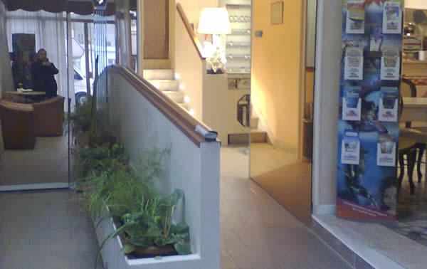 Corridoio ingresso hotel