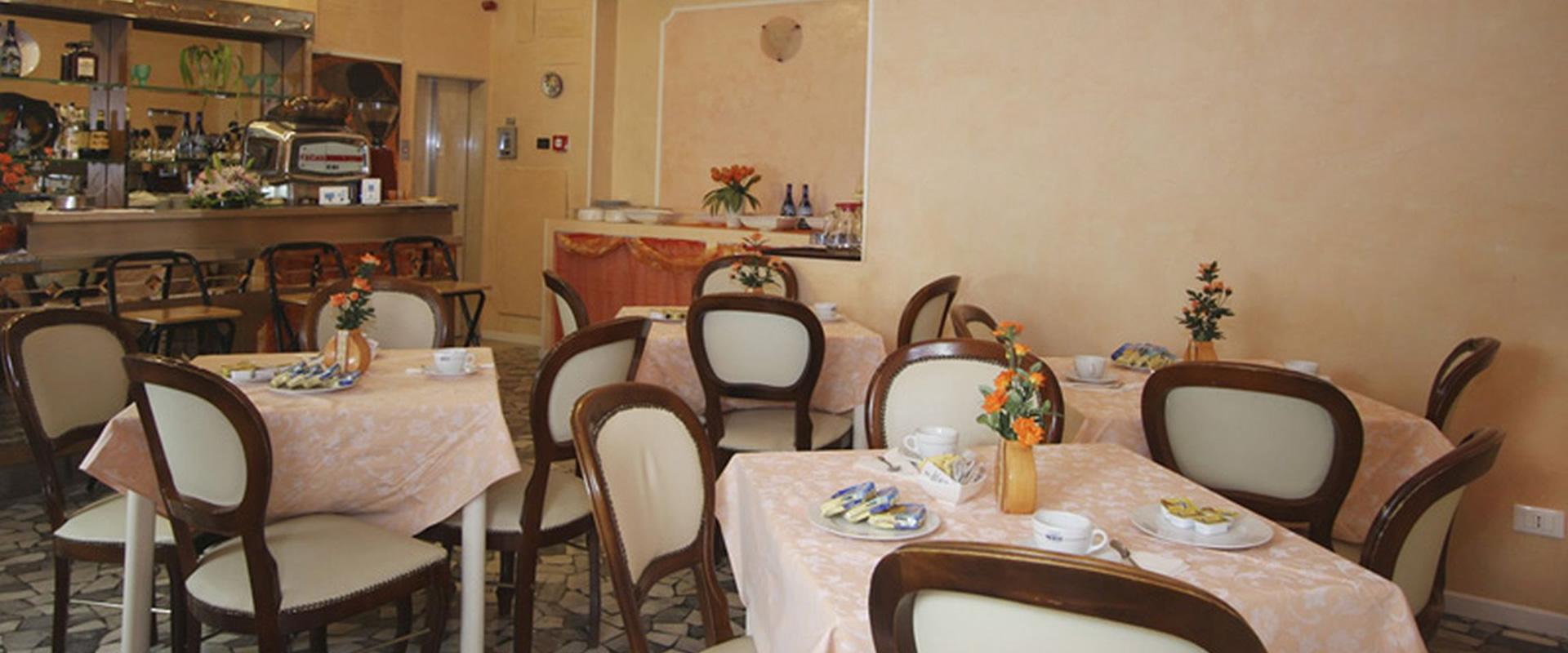 Sala colazioni Hotel